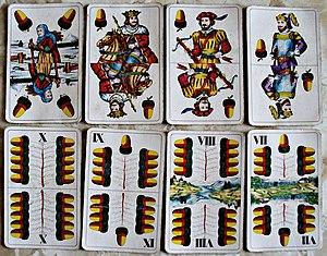 Eichel Im Kartenspiel 5 Buchst