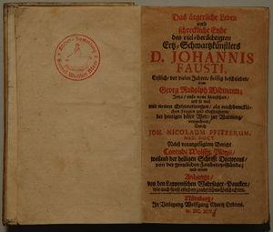 Johann Faust – AnthroWiki