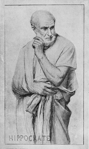 Composite portrait of Hippocrates designed by A. Anker. Wellcome M0000745.jpg