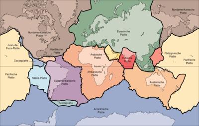 wieviel kontinente gibt es