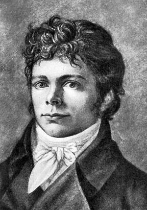 Friedrich Wilhelm Schelling, Gemälde von Christian Friedrich Tieck, ca. 1800 - 300px-FriedrichWilhelmSchelling